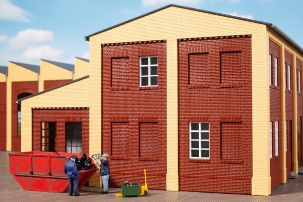 Auhagen 80225 H0-BauKastenSystem / Bauteile: Blindfenster rot