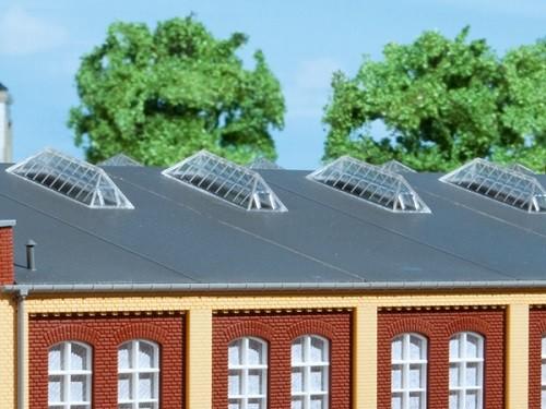 Auhagen 80203 H0-BauKastenSystem / Bauteile: Oberlichtfenster F