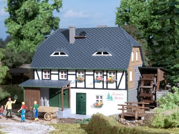 Auhagen 12230 H0/TT-Modellbausatz, Wassermühle