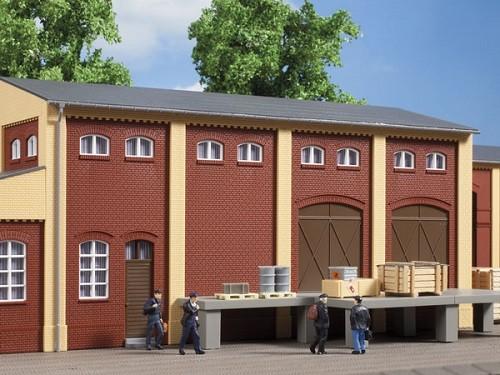 Auhagen 80519 H0-BauKastenSystem / Bauteile: Wand 2410E, Wände 2410F & Wände 2410H rot