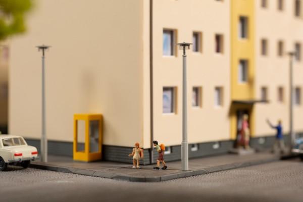 Auhagen 43666 TT-Ausgestaltungs-Zubehör, Straßenlampenattrappen