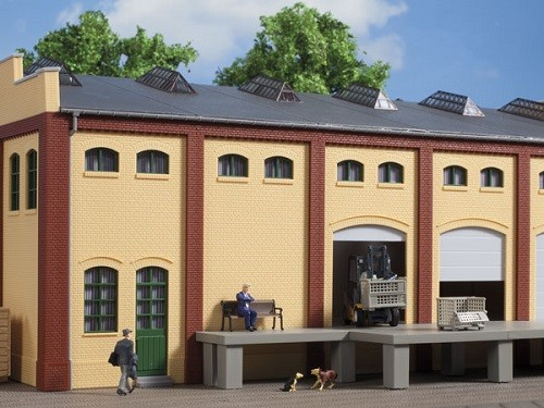 Auhagen 80619 H0-BauKastenSystem / Bauteile: Wand 2410E, Wände 2410F und Wände 2410H gelb