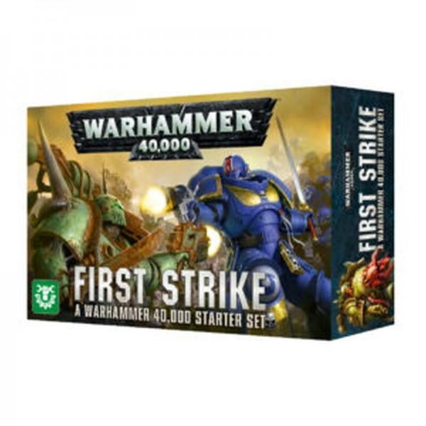 """Games Workshop 60010199018 Warhammer 40000 Start-Set """"First Strike"""""""