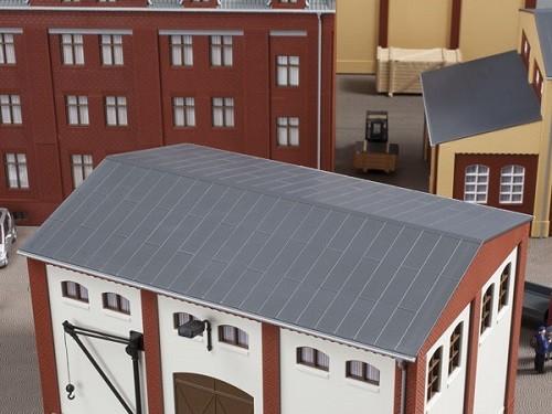 Auhagen 80305 H0-BauKastenSystem / Bauteile: Blechdächer
