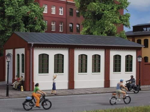 Auhagen 80715 H0-BauKastenSystem / Bauteile: Wände 2390E geputzt