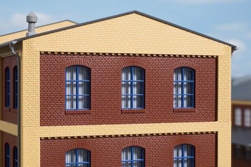 Auhagen 80527 H0-BauKastenSystem / Bauteile: Wände 2532E rot