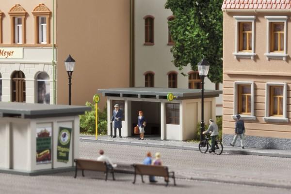 Auhagen 13330 TT-Modellbausatz, Buswartehäuschen