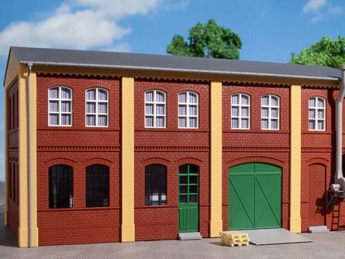 Auhagen 80507 H0-BauKastenSystem / Bauteile: Wände 2322B, Wände 2322C und Wände 2323C rot