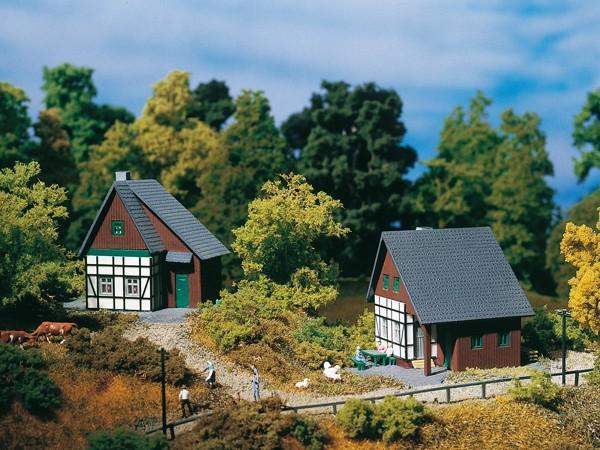 Auhagen 14452 N-Modellbausatz, Fachwerkhäuser