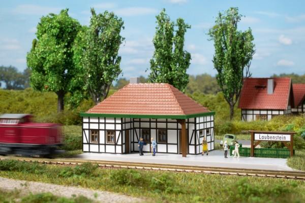 Auhagen 14456 N-Modellbausatz, Haltepunkt Laubenstein