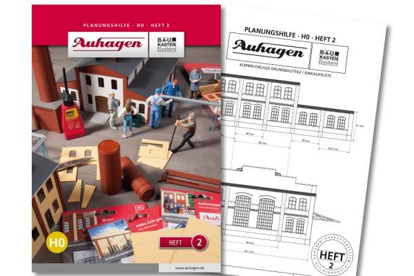 Auhagen 80002 BauKastenSystem / Planungshilfe - Heft 2