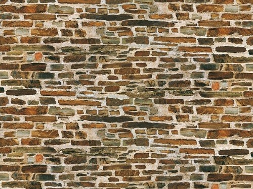 "Auhagen 50115 H0/TT 5-Dekorpappen ""Kalksteinmauer"""