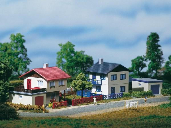 Auhagen 14462 N-Modellbausatz, Vorstadthäuser