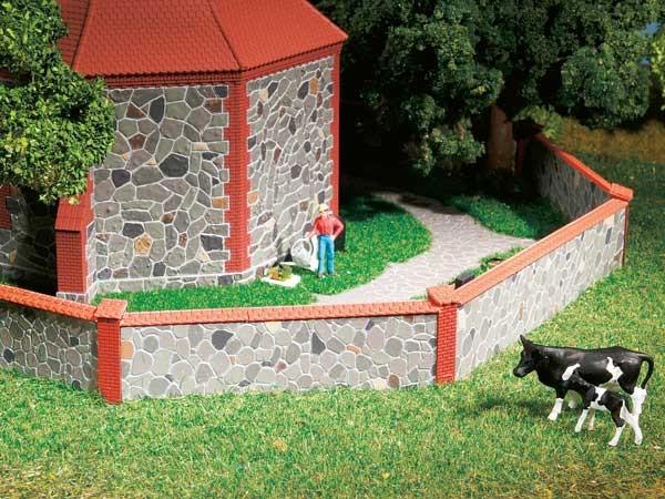 Auhagen 42651 H0/TT-Ausgestaltung, Natursteinmauer