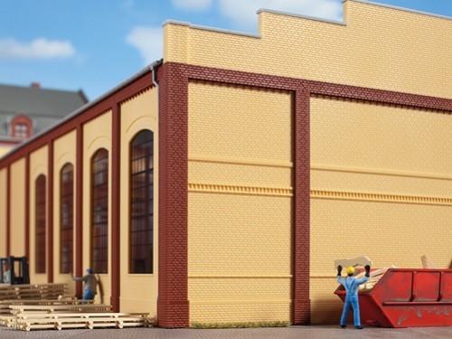 Auhagen 80612 H0-BauKastenSystem / Bauteile: Wände 2342I gelb