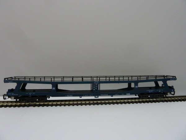 Krüger-TT-Modellbahn 9320 TT-Autotransportwagen ohne Fahrzeuge, Ep. IV, eingestellt bei der DB