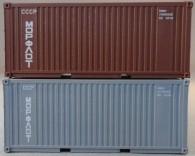 """PSK 6928 TT-Ladegüter, 2-teiliges Container Set bestehen aus 20ft Container von """"Morflot"""""""