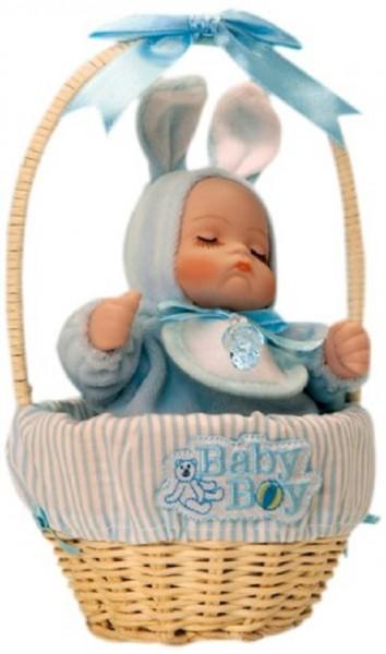 Spieluhr, Art.No. 20254, Baby-Junge im Korb