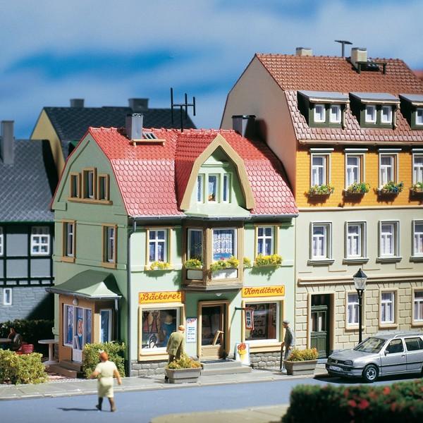 Auhagen 12247 H0/TT-Modellbausatz, Bäckerei