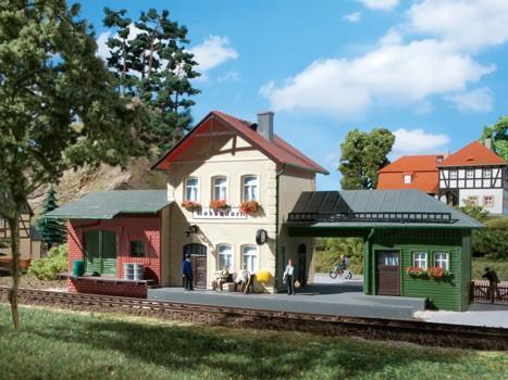 """Auhagen 11331 H0-Modellbausatz, """"Bahnhof Hohendorf"""""""