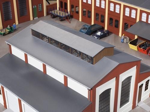 Auhagen 80303 H0-BauKastenSystem / Bauteile: Dach mit Oberlicht
