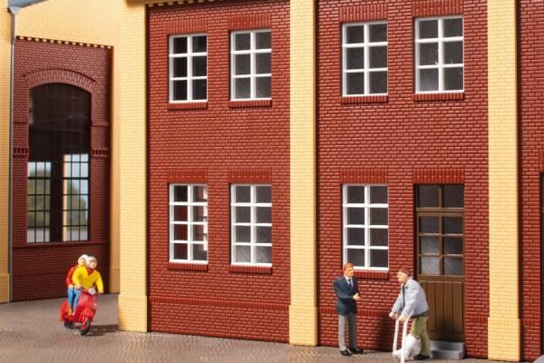 Auhagen 80222 H0-BauKastenSystem / Bauteile: Fenster Q, R weiß