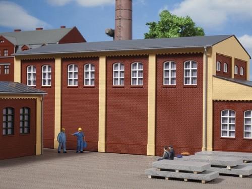 Auhagen 80521 H0-BauKastenSystem / Bauteile: Wände 2410G rot