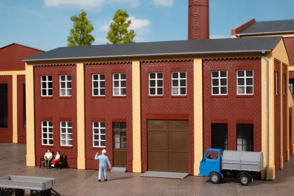 Auhagen 80532 H0-BauKastenSystem / Bauteile: Wände 2578A, Wände 2578B und Wände 2578C rot