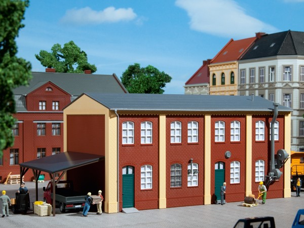Auhagen 11423 H0-Modellbausatz, Produktionsgebäude