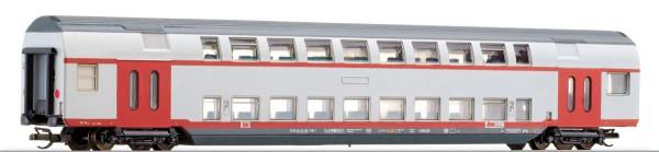 "Tillig 13806 TT-Doppelstockwagen 2. Kl. (Versuchslack) Ep. V, der ""RAB"", eingestellt bei der DBAG"