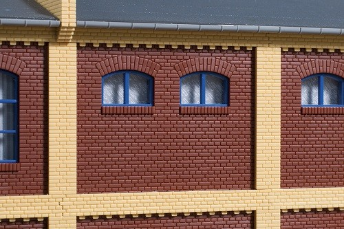 Auhagen 80524 H0-BauKastenSystem / Bauteile: Wände 2532A rot