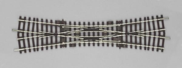 """Piko A-Gleis, 55224 H0 - Doppelkreuzungsweiche """"DKW"""" für DC-Gleissystem"""