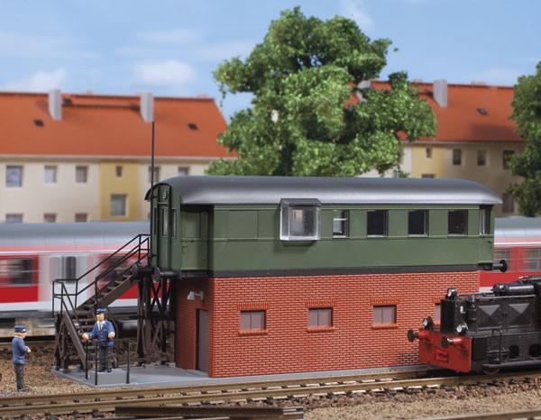 Auhagen 13339 TT-Modellbausatz, Behelfstellwerk