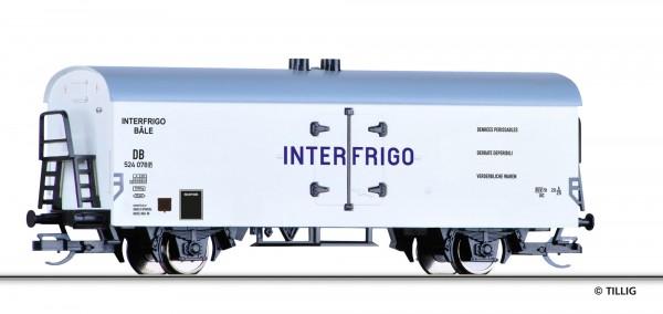 """Tillig 521586 TT-Kühlwagen Ep. III, der """"Interfrigo"""", eingestellt bei der DB"""