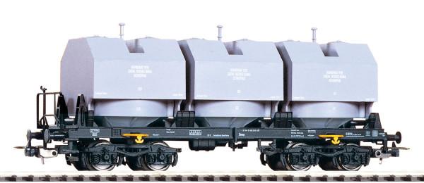 Piko 54450 H0-Kalkkübelwagen Ep. IV, eingestellt bei der DR