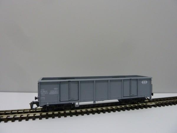 Tillig 500770 TT-Offener Drehgestell-Güterwagen Ep. IV, eingestellt bei der SBB
