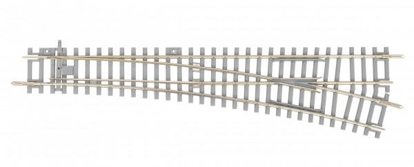 """Piko A-Gleis, 55171 H0 - Weiche mit Betonschwellen, rechts """"BS-WR"""" für DC-Gleissystem"""