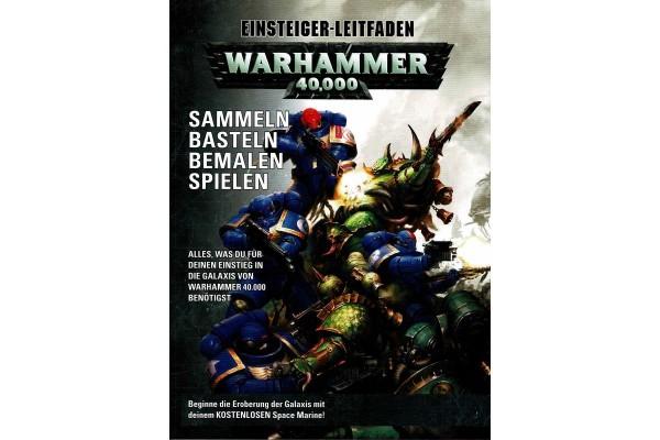 Games Workshop 04 04 01 99 085 Warhammer 40000, Leitfaden in deutsche Fassung für Einsteiger