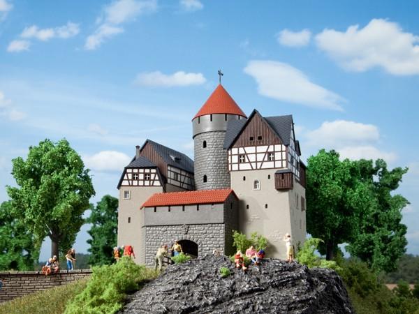 Auhagen 12263 H0/TT-Modellbausatz, Burg Lauterstein
