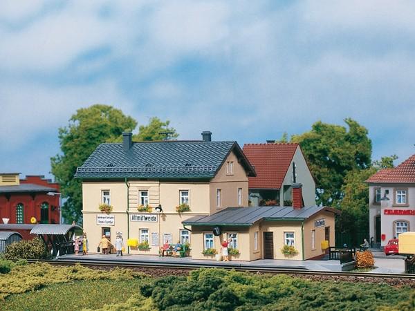 Auhagen 13231 TT-Modellbausatz, Bahnhof Altmittweida
