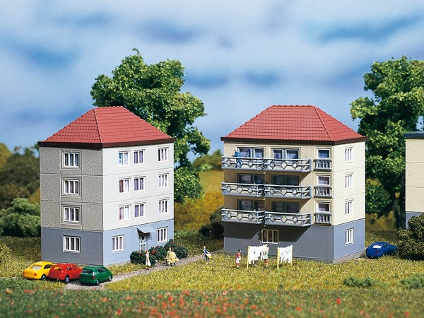 Auhagen 14464 N-Modellbausatz, Wohnhäuser