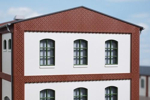 Auhagen 80727 H0-BauKastenSystem / Bauteile: Wände 2532K geputzt