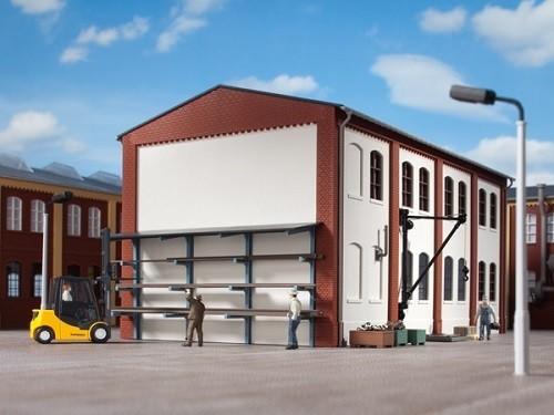 Auhagen 80107 H0-BauKastenSystem / Bauteile: Stangenlager, Wandkran
