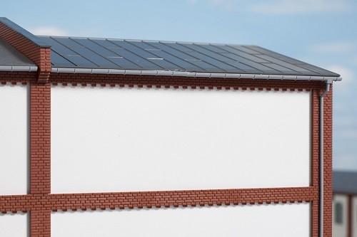 Auhagen 80728 H0-BauKastenSystem / Bauteile: Wände 2532L geputzt