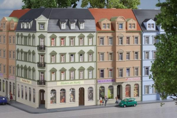 Auhagen 14478 N-Modellbausatz, Eckhaus Ringstraße 1