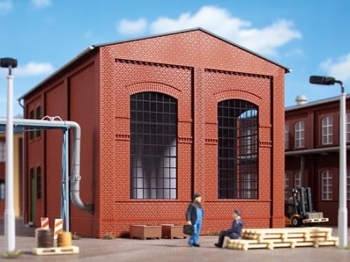 Auhagen 80510 H0-BauKastenSystem / Bauteile: Wände 2342J rot, Industriefenster E