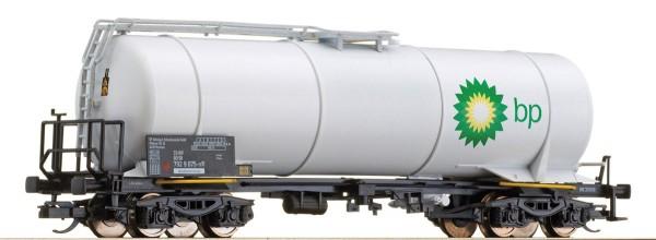 "Tillig 15466 TT-Drehgestell-Kesselwagen f. Leichtöl Ep. V, der ""BP"", eingestellt bei der DBAG"
