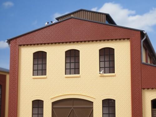 Auhagen 80213 H0-BauKastenSystem / Bauteile: Industriefenster B