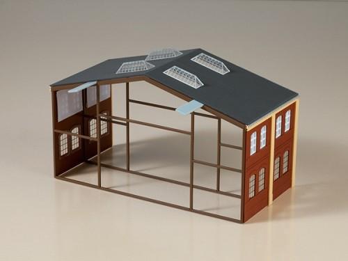 Auhagen 80100 H0-BauKastenSystem / Bauteile: Erweiterung Werkhalle