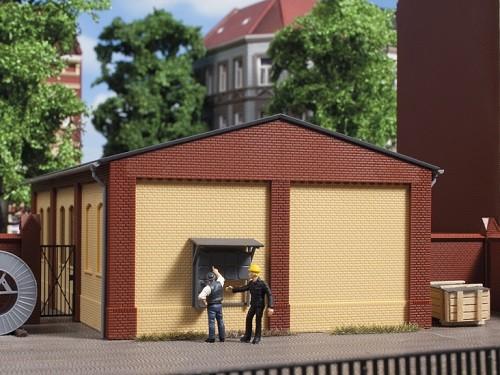 Auhagen 80617 H0-BauKastenSystem / Bauteile: Wände 2390B gelb